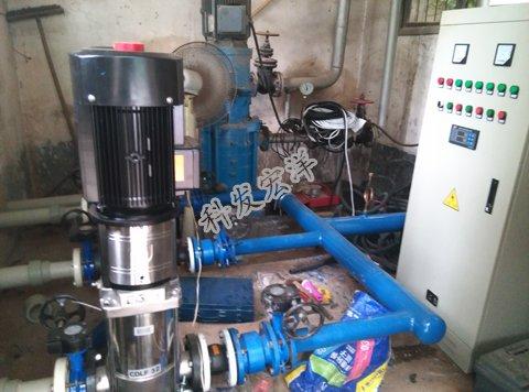 学校混凝土水池改造新泵房工程-武汉科发宏洋水箱